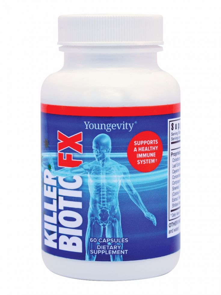 Killer Biotic Fx 60ct