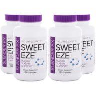 Slender Fx Sweet Eze 120ct 4 Pack
